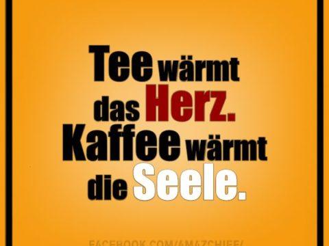 Tee Kaffee Seele Herz