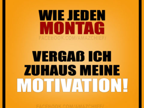 montag motivation