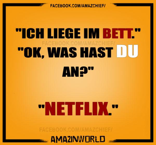 Was hast du im Bett an? - Netflix