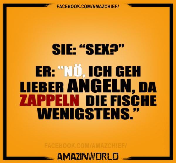 Sex Oder Angeln Amazinworld